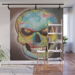 Mr. skull himself Wall Mural