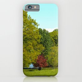 Trees in the Park iPhone Case