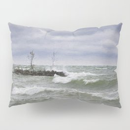 Rough Waters Pillow Sham