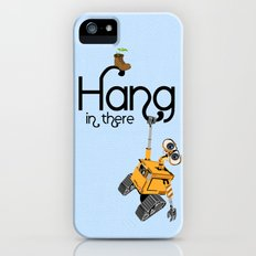 Pixar/Disney Wall-e Hang in There iPhone (5, 5s) Slim Case