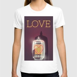Nixie Tube Love T-shirt