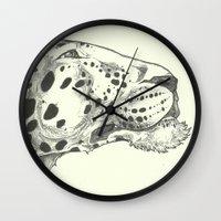 leopard Wall Clocks featuring Leopard by Breakell