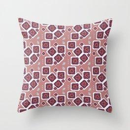 Quebrada Diamond Throw Pillow