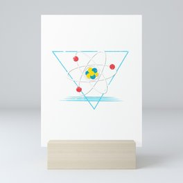 Because Science design science geek nerd physics graphic Mini Art Print