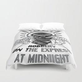 Robbery on the express Duvet Cover