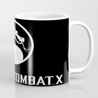 the mortal instruments Mugs featuring Mortal  ombat x by Eirarose