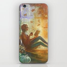 Reading Season iPhone Skin
