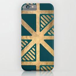 Art Deco Graphic No. 143 iPhone Case