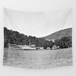 Sagamore Steamboat, 1900-1910 Wall Tapestry