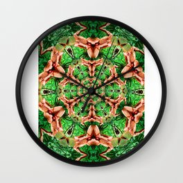 Kaleido Wall Clock