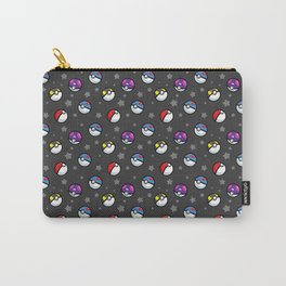 Classic Pokéball Pattern (Dark Version) Carry-All Pouch