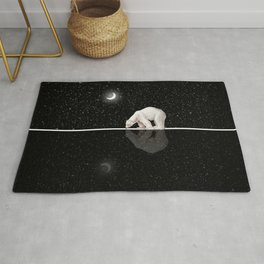 Starry Night Reflection Rug