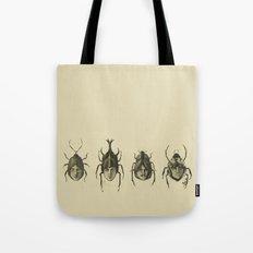 Beetle Morphology Tote Bag