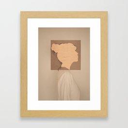 Paper portrait Gerahmter Kunstdruck