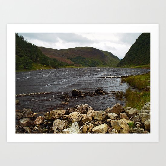 Loch Killin Art Print
