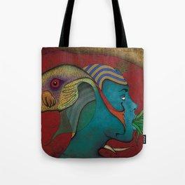 Siamese God Tote Bag