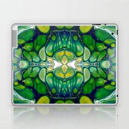 Bright Green Abstract Design Art Laptop & iPad Skin