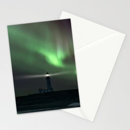 When the northern light appears Stationery Cards