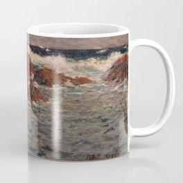 Shigeru Aoki - Seascape, Mera (1904) Coffee Mug
