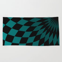 Wonderland Floor #4 Beach Towel