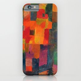 Paul Klee - Ohne Titel - No Title iPhone Case