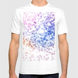 Colorful Watercolor Spots T-shirt