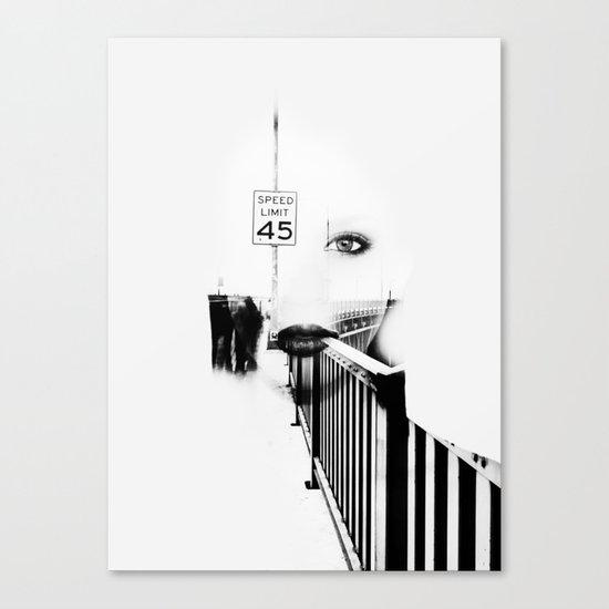 Speed Limit 45 Canvas Print