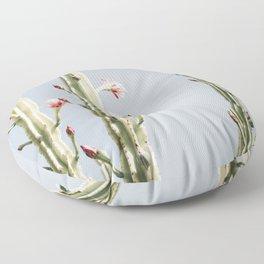 Cereus Cactus Blush Floor Pillow
