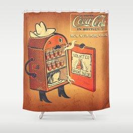 Cocaine Cola Shower Curtain