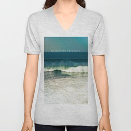 Kissed by the Sun Unisex V-Neck