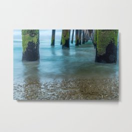 Misty Water Metal Print