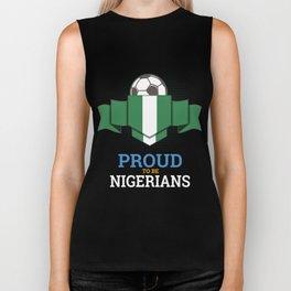 Football Nigerians Nigeria Soccer Team Sports Footballer Goalie Rugby Gift Biker Tank