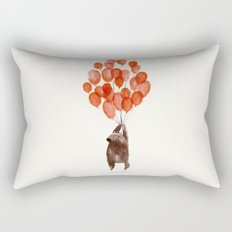 Almost take off Rectangular Pillow
