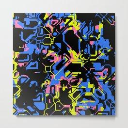 Color Distraction Metal Print