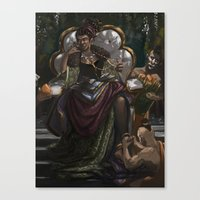 madonna Canvas Prints featuring Madonna  by Anastasia Magloire