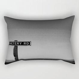 No One Cried Rectangular Pillow