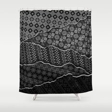 Pattern Madness Shower Curtain