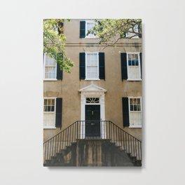 Charleston Architecture IX Metal Print