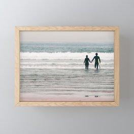 surf love Framed Mini Art Print