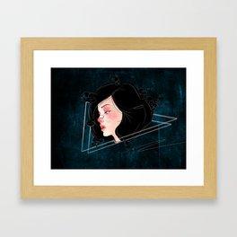 Brittle Framed Art Print