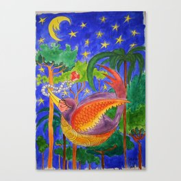 Rich Bird Canvas Print