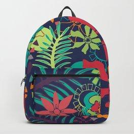 Flower Fiesta Backpack
