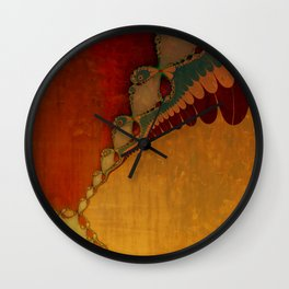 Southwestern Sunset 2 Wall Clock