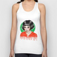 amelie Tank Tops featuring Amelie by ARTEMYSA