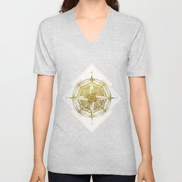 Golden Compass Unisex V-Neck