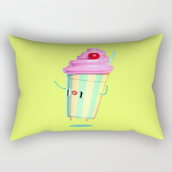 Milkshake Rectangular Pillow