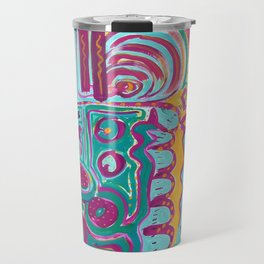 Carnivale by Marcia Ganeles Travel Mug