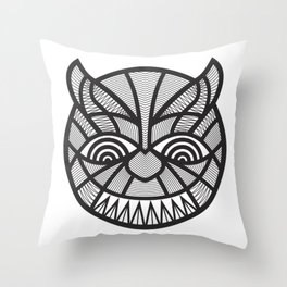The Devil may care Throw Pillow