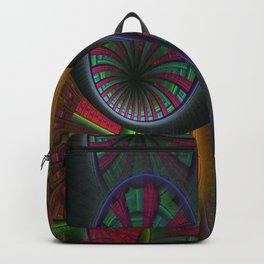 Tunneling Abstract Fractal Backpack