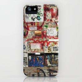 Mailboxes w/ Graffiti iPhone Case